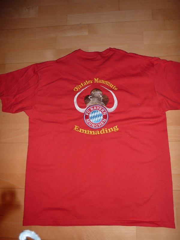 Fanartikel: T-Shirt (hinten)