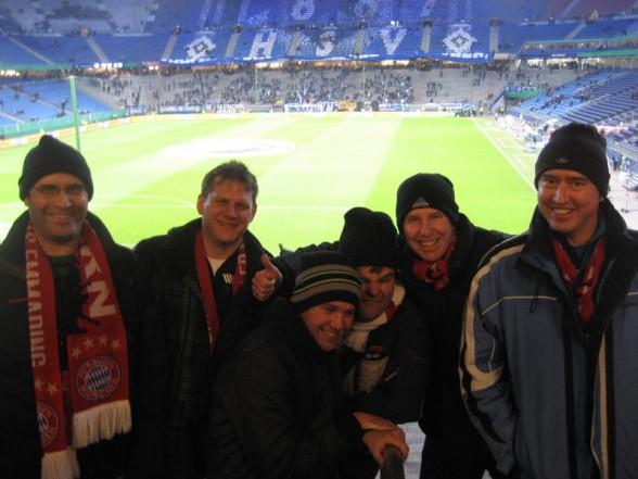 Hamburger SV gegen FC Bayern München