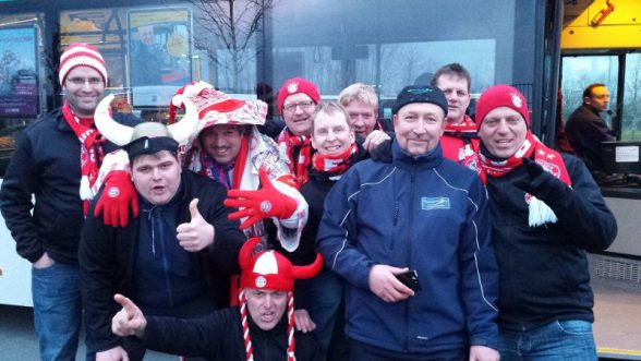 BL-Spiel Paderborn-FC Bayern 0:6