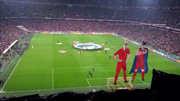 DFB-Pokal Halbfinale FC Bayern-Dortmund 1:3 n.E.