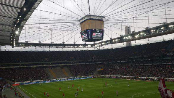 BL-Spiel Frankfurt - FC Bayern