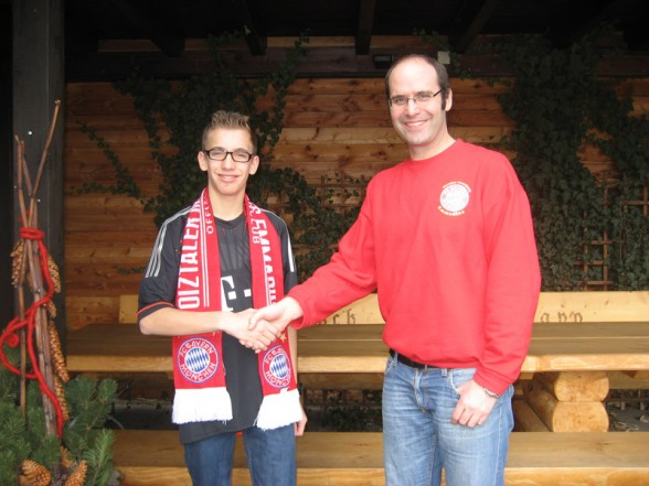 300. Mitglied Sebastian Dorfner (Februar 2013)